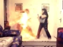 Epic Battle 1 Fire Punch by zylladys