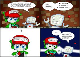 Cave Story Comic: Gum Base by purplemagechan