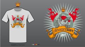 DA Design Battle shirt by Don-Pitayin