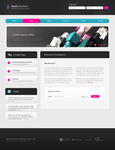 Bright hosting layout - 2 by Warbiee
