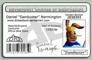 dA License by DCLeadboot