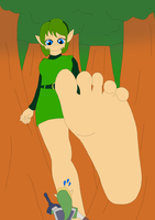 The Barefoot Step by Final7Darkness
