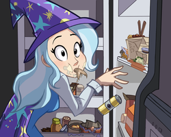 Day 6- Trixie at Someone's Fridge by Ric-M