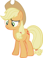 Applejack: apples. by LilCinnamon