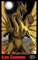 King Ghidorah by kaijuverse