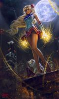 Sailor Venus by RedreevGeorge