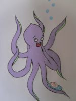 Octopus by Harmanatee22
