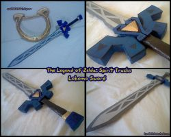The Legend of Zelda: Spirit Tracks - Lokomo Sword by Lya-Yuki