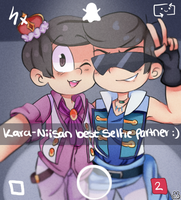 Selfie With The Bae by Pyon-Suki