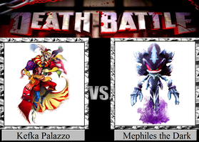 Kefka Palazzo vs. Mephiles the Dark by JasonPictures