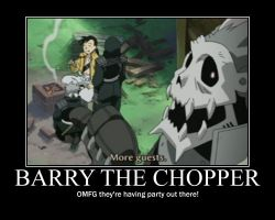 Barry the Chopper by mrx3666