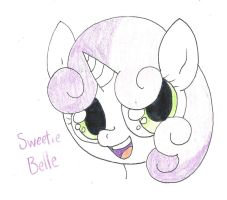 Sweetie Belle by JuicyJuiceHypotenuse