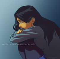 Just Thinking by betsyillustration