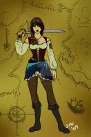 Sybil, Lady Pirate by Captain-Savvy