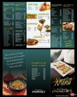 Menu Restaurant Chamicari by KikeFdz