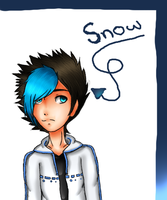 My new OC Snow by fantagenaruto99988