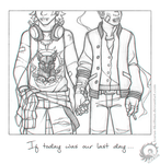 Jan and Nathan - If today was our last day... by Icarus-Skollsun