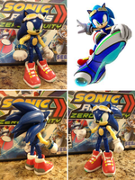 Sonic Riders Zero Gravity Sonic custom figure by HyperShadow92