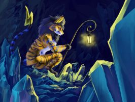 Glitter Cavern by Silverbirch
