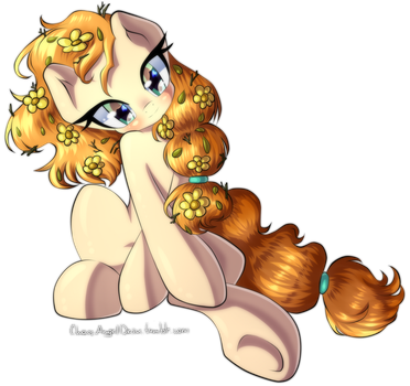 Commission - Pear Butter by ChaosAngelDesu