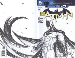 Batman Issue Zero-Batman by KomicKarl
