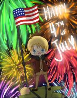 4TH OF JULY by bananasaurr