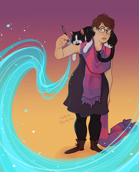 witchsona by gingerbreadcat