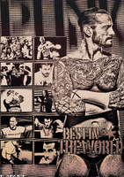 CM Punk Poster by TheAwesomeJeo