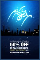 My Design offer For Ramadan by beshoywilliam