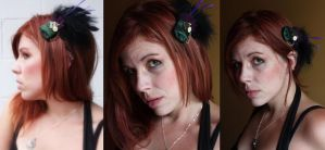 Steampunk Fascinator by purpleravenwings