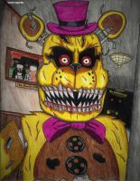 Mr Fredbear by clonetrooper66