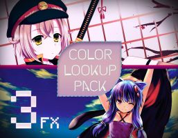 PS| Color Lookup Pack {3} by Yoshi-Akira