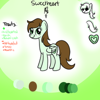 Sweetheart reference by TheShadowArtist100