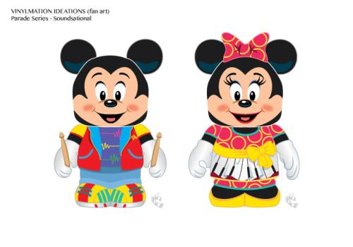 Soundsational Mickey and Minnie by CBeeProject