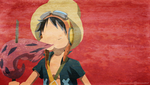 Luffy-SW minimalist wallpaper by AnnaHiwatari