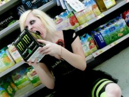 MONSTER NOM by ZombieGirl6