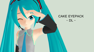 Cake Eyepack -Download- by EmmaDesu