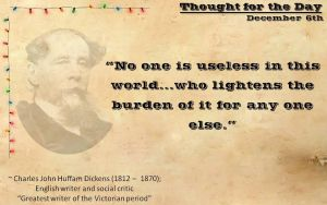 Thought for the Day - December 6th by ebturner