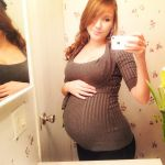 8 months pregnant! by SmilesThatNeverFade