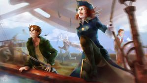 Treasure planet by Emilyena