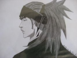 New Abarai Renji by captaingrimmjow
