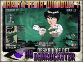 Rock Lee PTS Theme Windows 7 by Danrockster