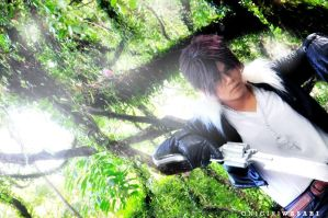 Final Fantasy VIII: Squall Leonhart by ZenChuU