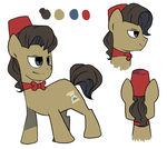 11th doctor whooves ref by snaximation
