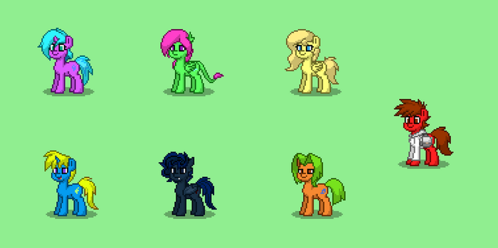 MLP - New Generation (2) + New outfit by AndyZeroKnight