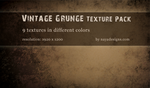 Vintage Grunge Texture Pack by NayaDesigns