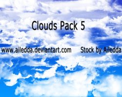 Clouds Pack 5 by Ailedda