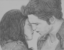 New Moon  Edward and Bella by gaby0407