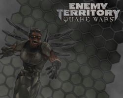 Quake Wars Contest Wallpaper by Bloodred070