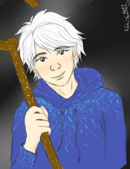 MatsuJun as Jack frost by weepingwilows